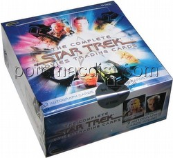 The Complete Star Trek Movies Trading Card Box