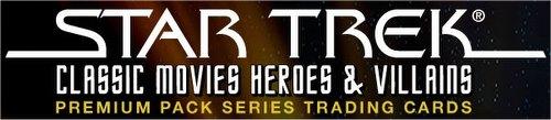 Star Trek Classic Movies Heroes & Villains Trading CardsPremium Pack 2-Box Lot