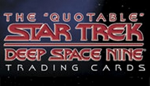 The Quotable Star Trek: Deep Space Nine Trading Cards Binder Case [4 binders]