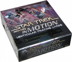 Star Trek: The Movies In Motion Lenticular Trading Card Box