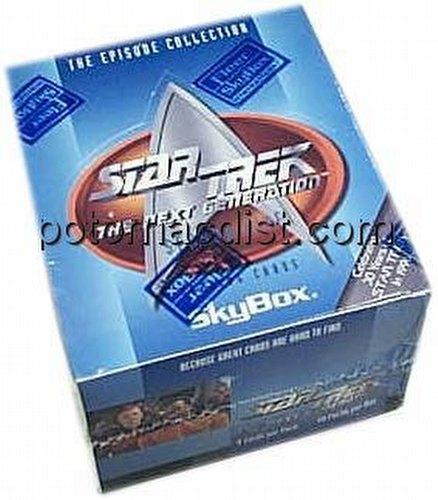Star Trek Next Generation Episode 5 Trading Cards Box