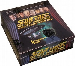 Star Trek: The Next Generation Heroes & Villains Trading Cards Box