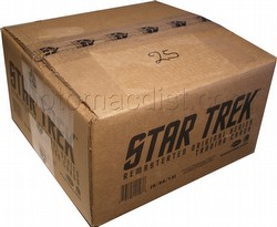 Star Trek: The Remastered Original Series Trading Cards Box Case [12 boxes]