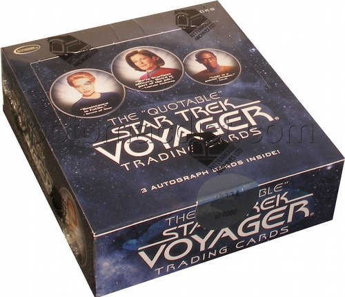 The Quotable Star Trek: Voyager Trading Card Box [2012]