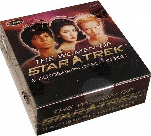 Women of Star Trek Trading Cards Box