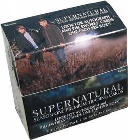 Supernatural Season 1 Trading Cards Box