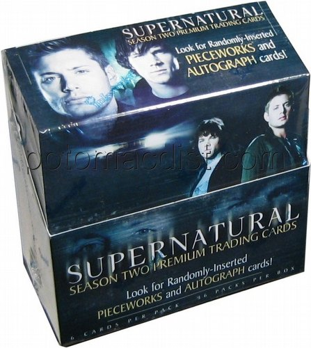 Supernatural Season 2 Premium Trading Cards Box