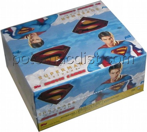 Superman Returns Movie Trading Cards Box