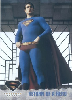 Superman Returns Movie Trading Cards Box Case [Hobby/8 boxes]