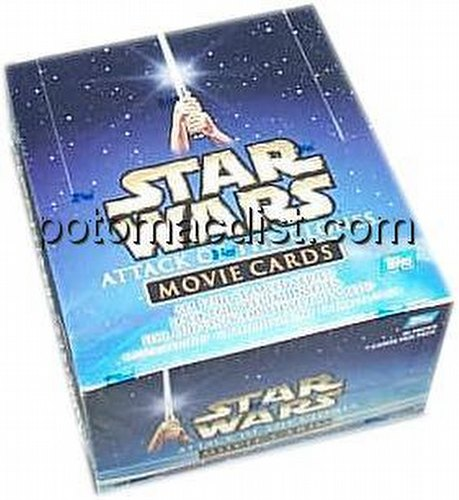 Star Wars Attack of the Clones Trading Cards Box [Topps/Hobby]