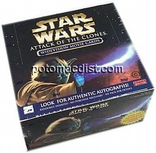 Star Wars Attack of the Clones Widevision Trading Cards Box [Hobby]