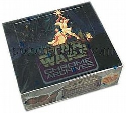 Star Wars Chrome Archives Trading Cards Box