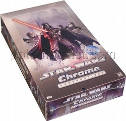 Star Wars Chrome Perspectives Trading Card Box [Hobby]