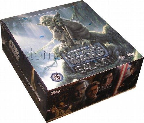 Star Wars Galaxy Series 6 Trading Cards Box [Hobby]