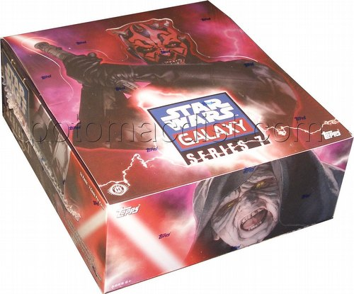 Star Wars Galaxy Series 7 Trading Cards Box [Hobby]