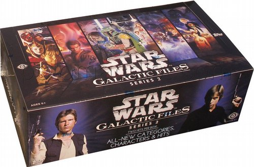 Star Wars Galactic Files Series 2 Trading Card Box [Hobby]