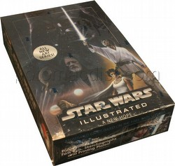 Star Wars Illustrated - New Hope Trading Card Box [2013/Hobby]
