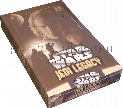 Star Wars Jedi Legacy Trading Card Box [Hobby]