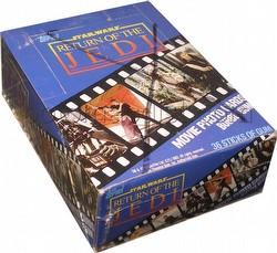 Star Wars Return of the Jedi Movie Photo Cards Box [1983]