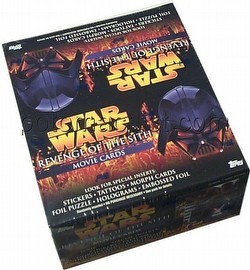 Star Wars Revenge of the Sith Trading Cards Box [Topps/Retail]
