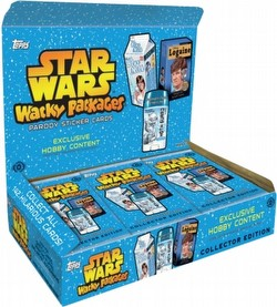 Star Wars Wacky Packages Trading Cards Box [Hobby/2014]