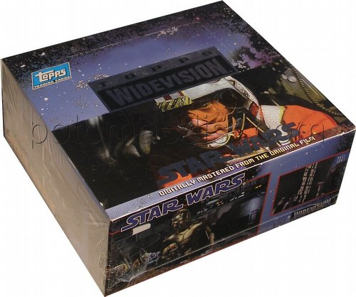 Star Wars Widevision Trading Cards Box [1994]