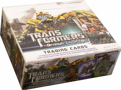Transformers Optimum Collection Trading Cards Box [2013/Breygent]