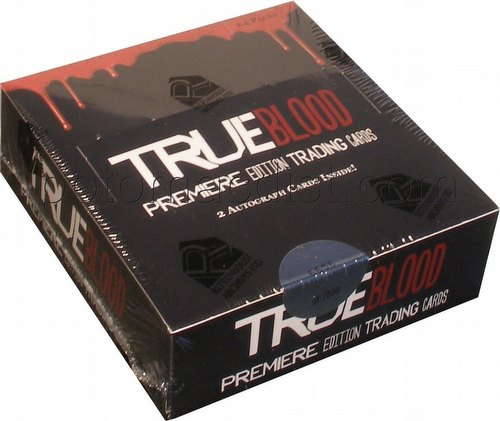 True Blood Legends Premiere Edition Trading Card Box