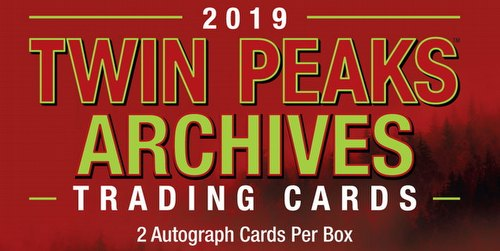 Twin Peaks Archives Trading Cards Box