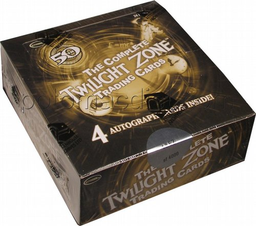 The Complete Twilight Zone 50th Anniversary Trading Cards Box