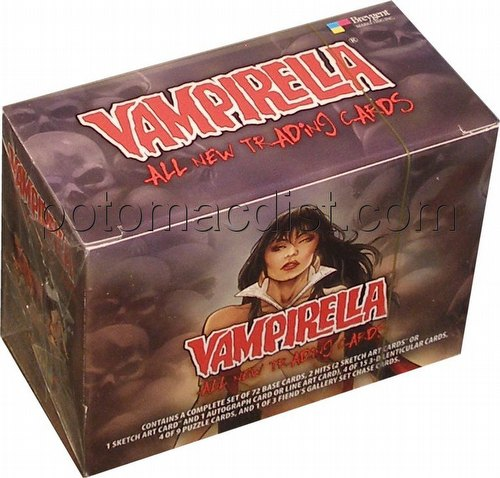 Vampirella Trading Cards Box [2012/Breygent Marketing]