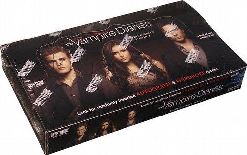 The Vampire Diaries Season 3 Trading Cards Box