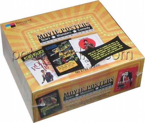 Classic Vintage Movie Posters Trading Cards Box [2009]
