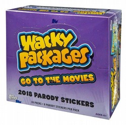 Wacky Packages Go to the Movies Stickers Box [Hobby/2018]