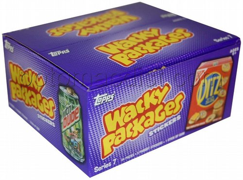 Wacky Packages All New Series 7 Stickers Box [2010/Retail/with Gum]