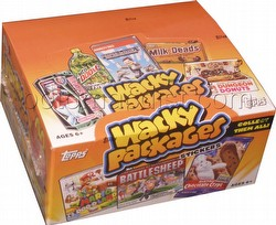 Wacky Packages All New Series 10 Stickers Box [2013/Retail]