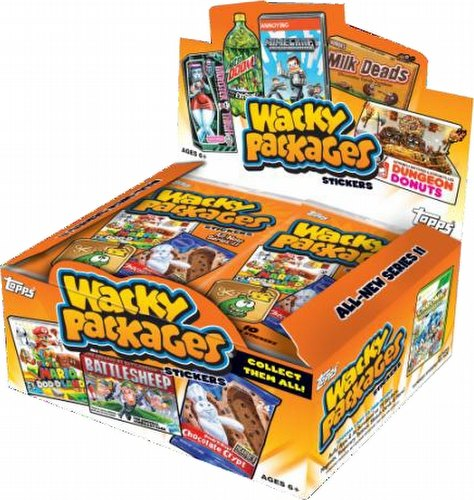 Wacky Packages All New Series 11 Stickers Box Case [Retail/16 boxes]
