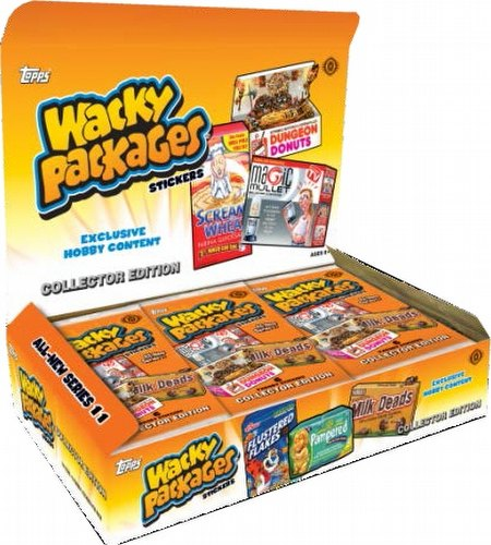 Wacky Packages 2014 Series 1 Stickers Collector Edition Case [Hobby/6 boxes]