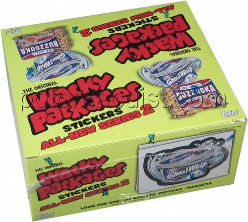 Wacky Packages All New Series 2 Stickers Box [Topps/2005/2nd Wave/Retail/36 packs]