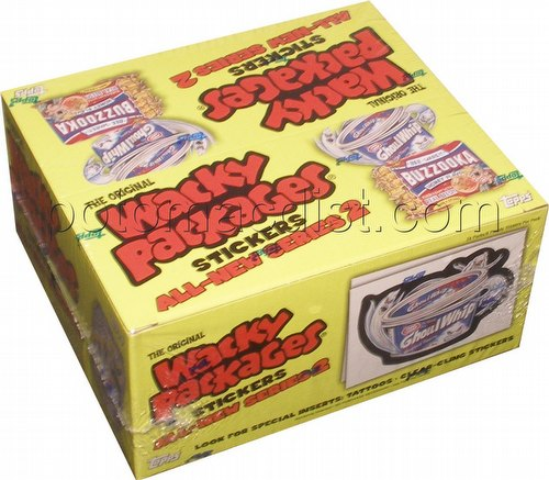 Wacky Packages All New Series 2 Stickers Box [Topps/2005/1st Wave]