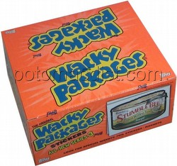 Wacky Packages All New Series 3 Stickers Box [Topps/1st Wave/36 packs]