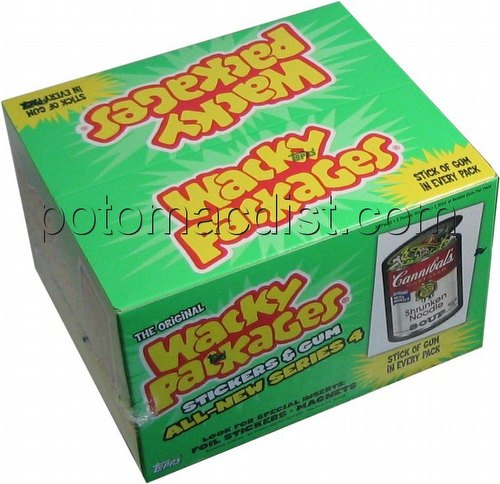 Wacky Packages All New Series 4 Stickers Box [Topps/Retail/36 packs]