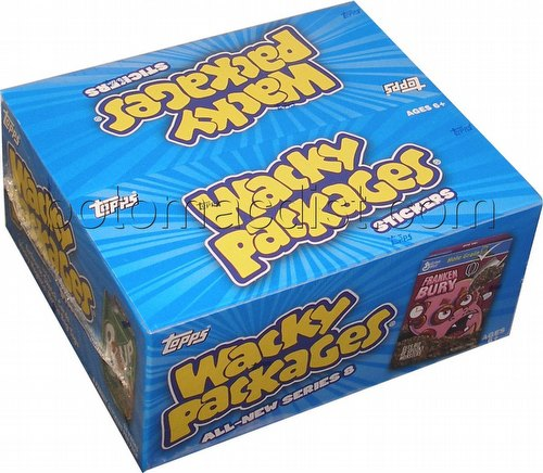 Wacky Packages All New Series 8 Stickers Box [2011/Hobby]