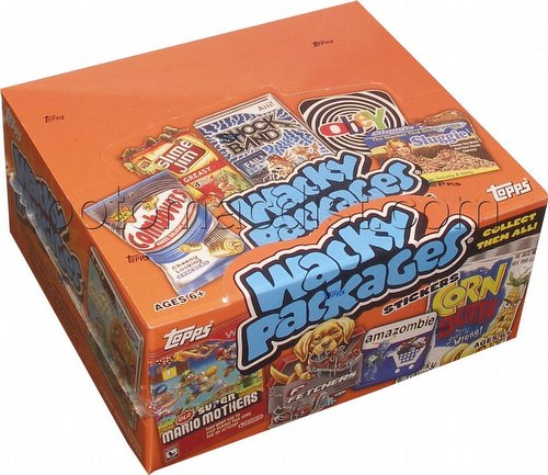 Wacky Packages All New Series 9 Stickers Box [2012/Hobby]