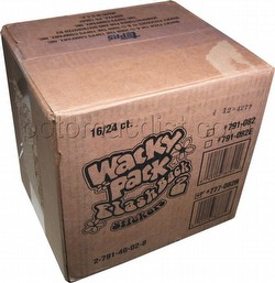 Wacky Pack Flashback 2 Stickers Box Case [Topps/16 boxes]