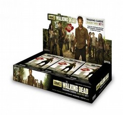 The Walking Dead Season 3 - Part 1 Trading Cards Box Case [12 boxes]