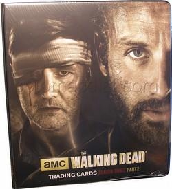 The Walking Dead Season 3 - Part 2 Trading Cards Binder