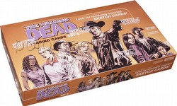 The Walking Dead Comic Book Series 2 Trading Cards Box