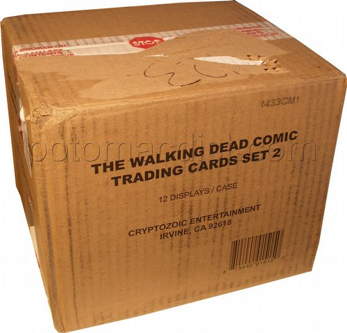 The Walking Dead Comic Book Series 2 Trading Cards Case [12 boxes]