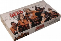The Walking Dead Comic Book Trading Cards Box